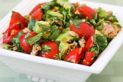 tomato-avo-tuna-salad
