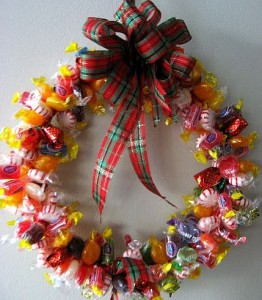 candy-wreath