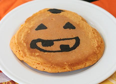 ハロウィンパンケーキレシピ