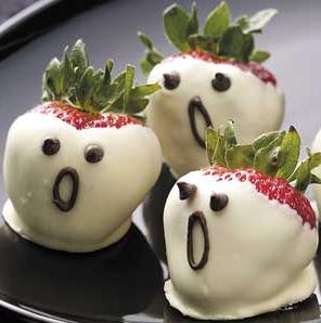 ハロウィン簡単デザートレシピフルーツ