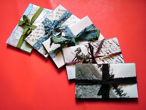 How to a make envelopes for cards 10