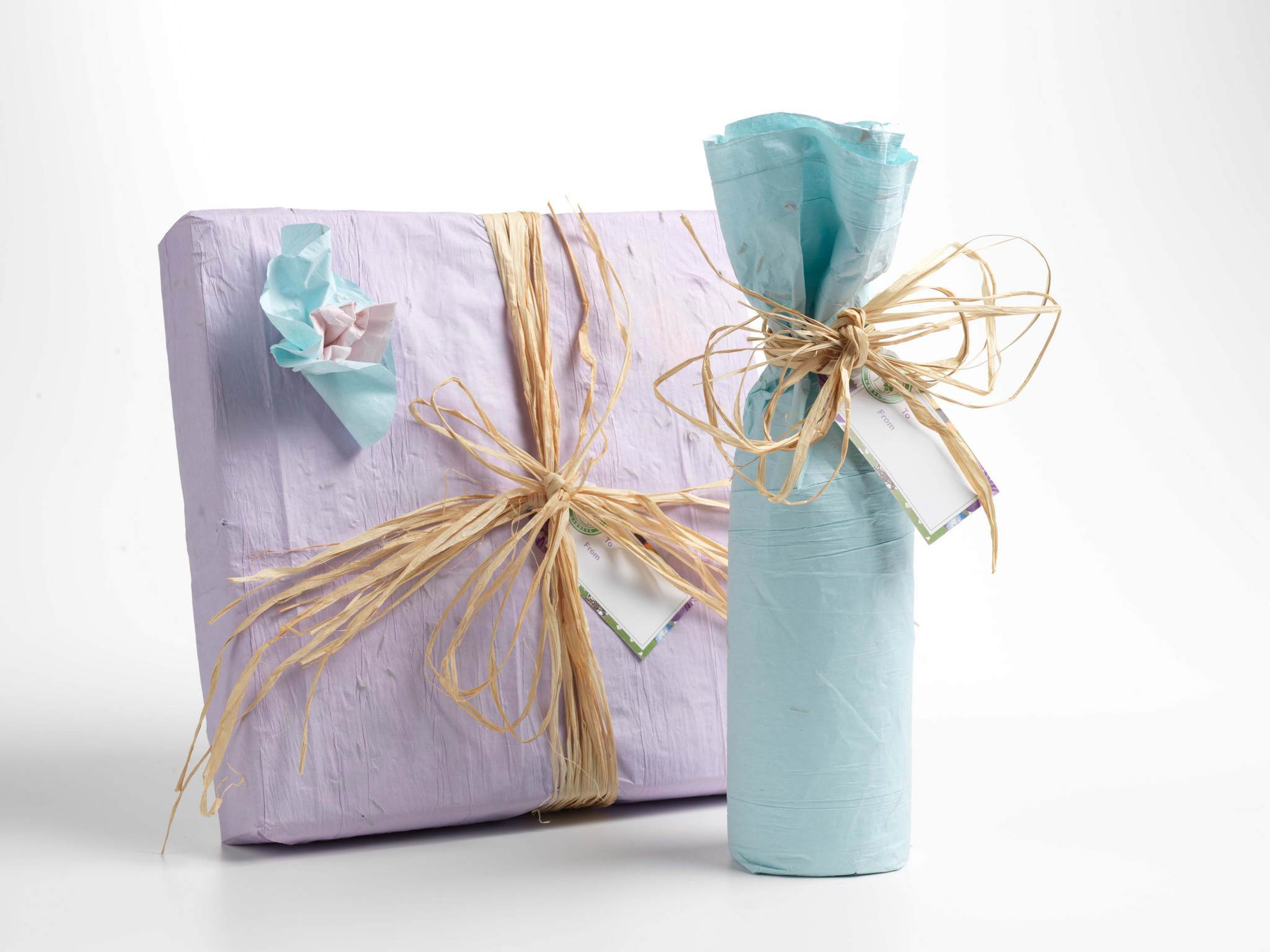 Упаковка подарка в домашних условиях