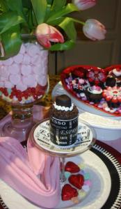 バレンタイン食卓