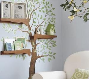 手作り木の本棚