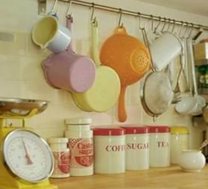 キッチン粉類収納