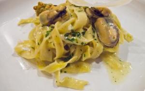 牡蠣のフィットチーネパスタレシピ