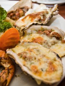 殻付き牡蠣レシピ