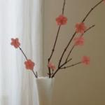 桜のフラワーアレンジメント