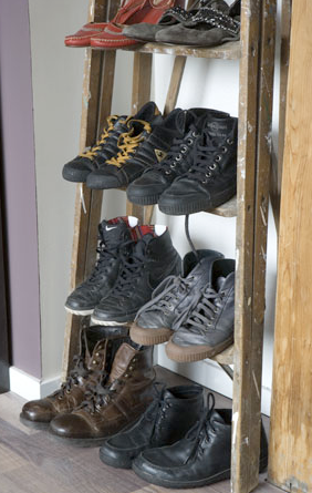 はしごの靴置きメンズ