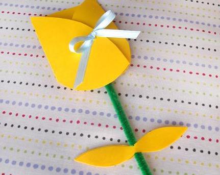 母の日の手作りカードの作り方 花束が飛び出すカードとアイディアいろいろ