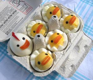 イースターかわいい卵レシピ