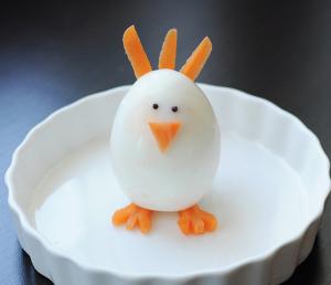 ゆで卵イースターエッグレシピ