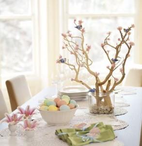 桜でデコレーション