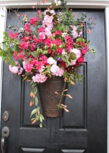 玄関お花アレンジ方法