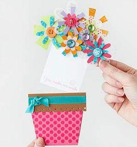 手作り母の日カードの作り方