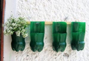 ペットボトルリサイクル花瓶