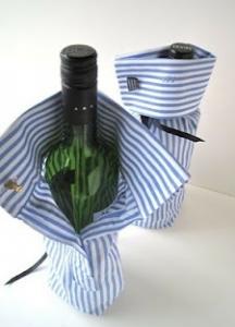 父の日ワインボトルのラッピングアイデア