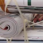 雑誌リサイクルサイトテーブル