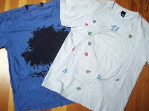 Tシャツのリサイクル画