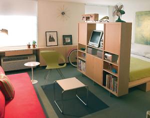 お部屋の仕切り家具