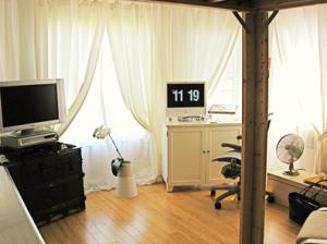 小さな部屋のデコレーション