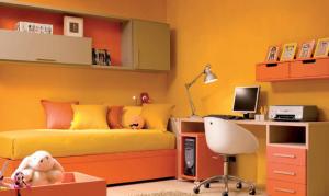 オレンジのお部屋