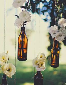 吊るす花瓶の作り方