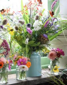 食卓のお花の生け方