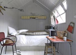 一人暮らしのベッドルーム