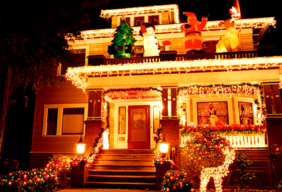 クリスマス家ライトアップ