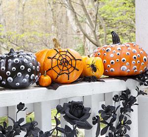 かぼちゃのデコレーションアイデア