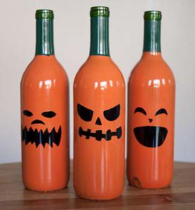 ワインボトルリサイクルアイデア