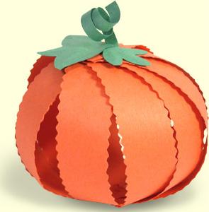 かぼちゃクラフト作り方