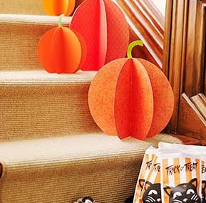 かぼちゃのペーパークラフト