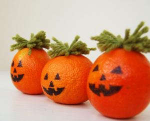 かぼちゃ飾りの作り方