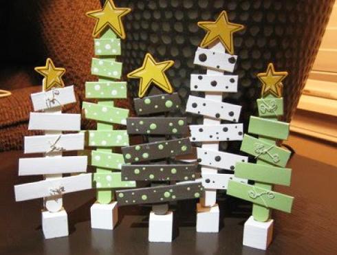 木製クリスマスツリー作り方