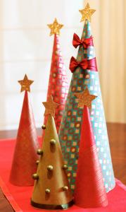 ラッピングペーパークリスマスクラフト
