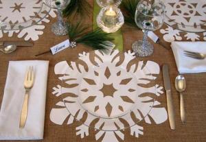 クリスマス食卓飾り方