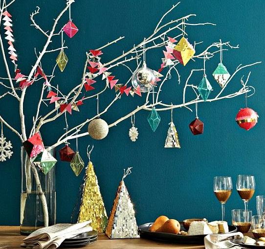 北欧クリスマス飾り付け画像