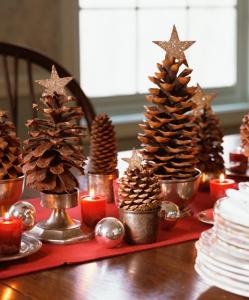 北欧クリスマステーブル飾り