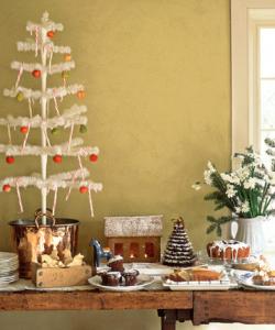 ナチュラルクリスマスデコレーション方法