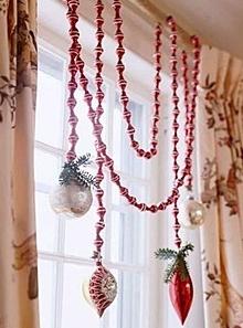 クリスマス窓デコレーション方法