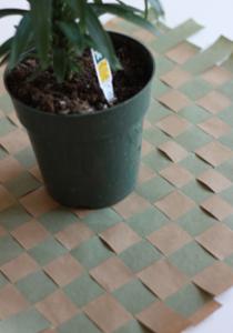 植木鉢手作りラッピングやり方