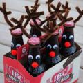 クリスマス手作りボトルラッピング方法