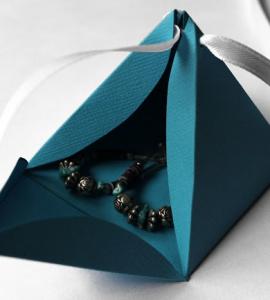 三角ギフトボックス作り方