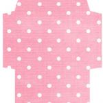 かわいい色柄封筒テンプレート