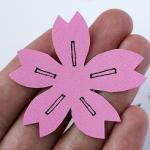桜型紙作り方
