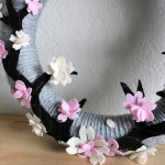 桜の枝フェルト作り方