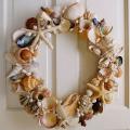 貝殻リース作り方