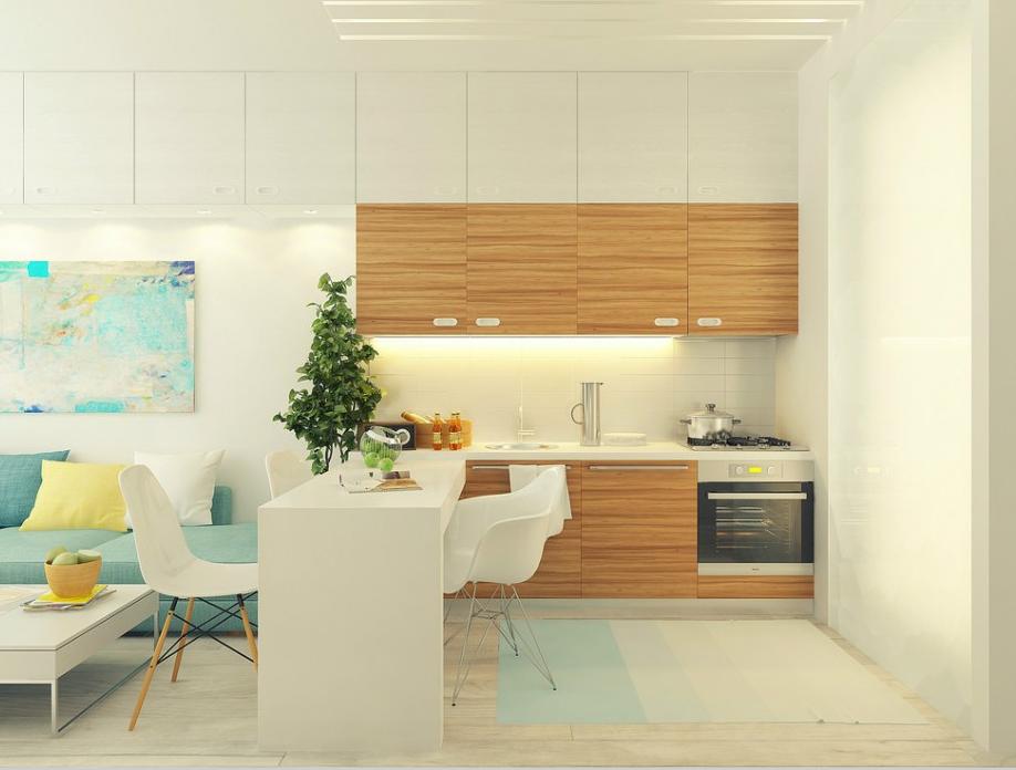 キッチン 背面収納 キッチン : お部屋の大半を占める床や壁 ...